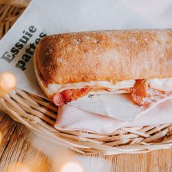 Image de Ciabatta raclette bacon